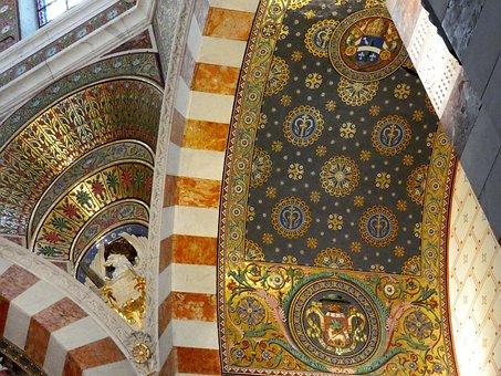 Marseille, Basilica, Notre-dame-de-la-garde