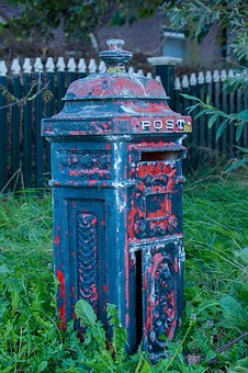 Mailbox, Old Fashioned, Mailboxes, Letters, Old