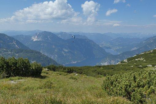 Dachstein-krippenstein, Panorama, Lake Hallstatt