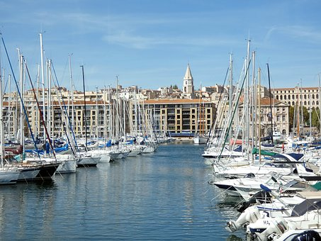 Marseille, Old Port, Port, Mediterranean, Sea, Provence