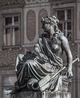 Minerva, Goddess, Sculpture, Art, Religion, Athena