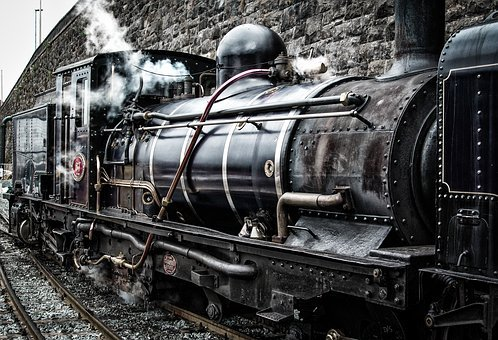 Locomotive, Train, Railway, Travel, Antique