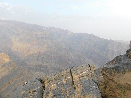 Oman, Travel, Jebelshams, Canyon