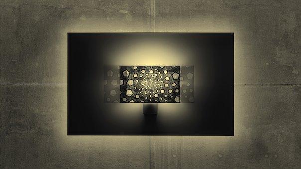 Artwork, Hue, Lighting, Lamps, Wall Lamps, Smarthome