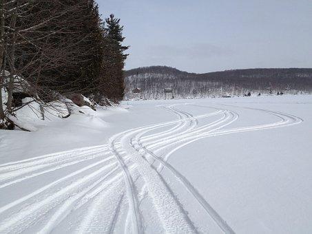 Yamaha, Snowmobiles, Sleds, Snowmobile, Winter, Nature