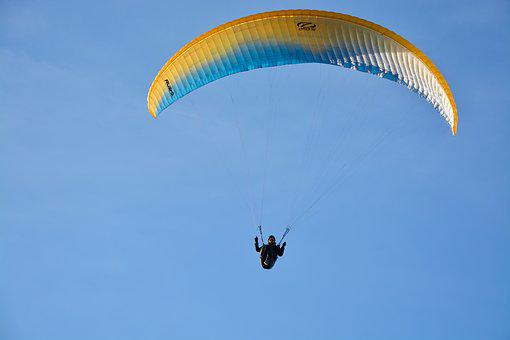 Paragliding, Paraglider, Wing Ozone Rush 5, Wind, Air