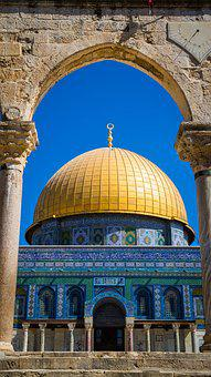 Jerusalem, Mosque, Holy, Religion, Israel, Architecture