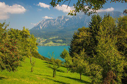Attersee, Hell Mountains, Bergsee, Austria