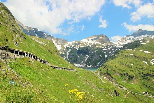 Grossglockner, Austria, Mountains, Nature, Panorama