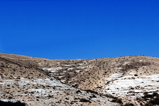 Sky, Blue Desert, Desert, Blue, Landscape, Nature