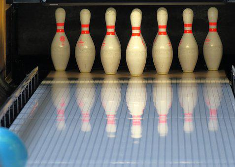 Bowling, Cone, Pin, Bowling Alley
