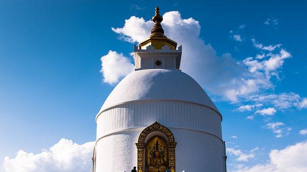 Temple, B, Buddhism, Stupa, Spiritual, Buddha, Religion