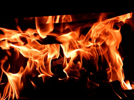 Fire, Fireplace, Hearth, The Flame, Burn, Hot, Censer