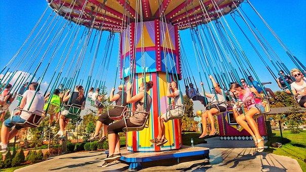 Carousel, Entertainment, Children, Color, Carnival