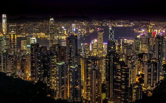 Hong Kong, City, Building, Architecture, The Skyscraper