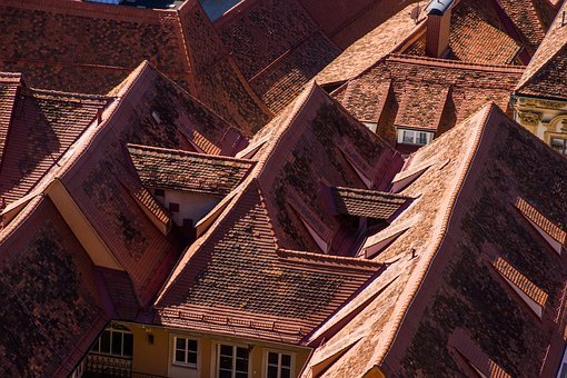 Roofs, Roof, Tiles, Architecture, Buildings, City