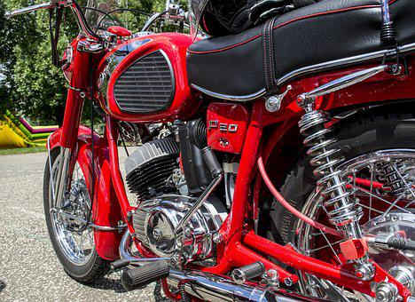 Motorcycle, Chrome, Classic