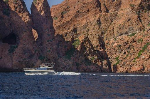 Corsican, Scandola, Cliffs, Reserve, Mediterranean