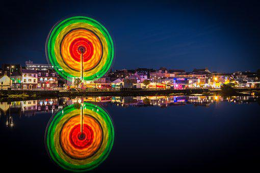 Dumfries, Dumfries And Galloway, Scotland, Funfair