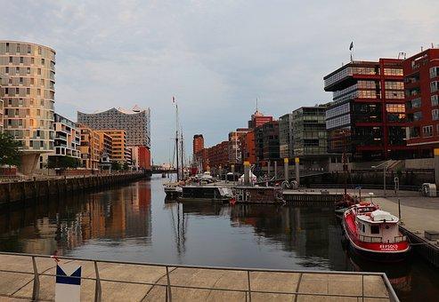 Hamburg, Harbour City, Hanseatic City, Elbe