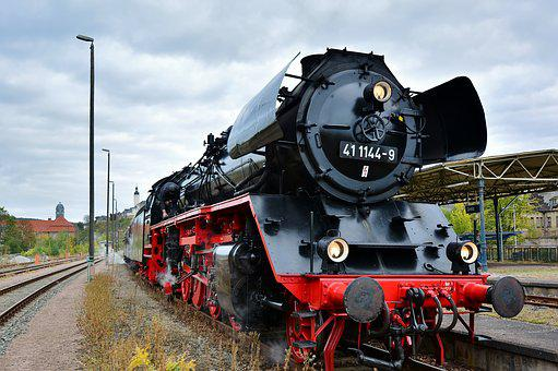 Steam Locomotive, Elstertal Express, Nostalgia