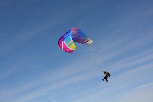 Paragliding, Paraglider, Entertainment, Sport
