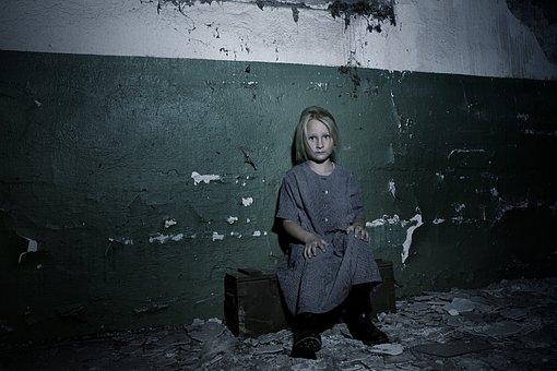 Child, Girl, Portrait, Childhood, Model, Emotion, Fear