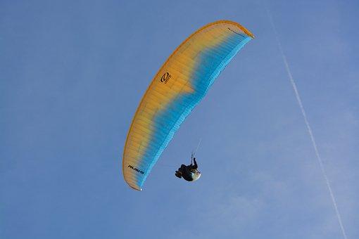 Paragliding, Paraglider, Fly, Free Flight