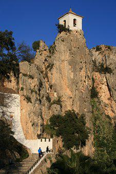 Guardales, Spain, Tower, Architecture, Building