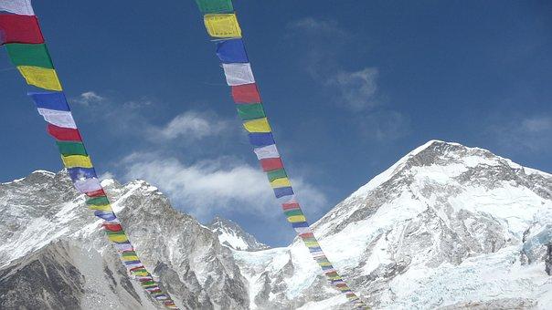 Everest Base Camp, Nepal, Himalaya, Everest