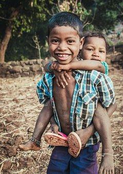 Kid, India, Child, People, Young, Girl, Childhood