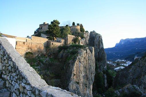Guardales, Spain, Rock, Nature, Landscape