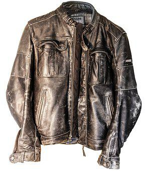 Leather, Leather Jacket, Biker Jacket, Biker