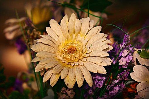 Artificial Flower, Decoration, Gift, Bouquet, Linen