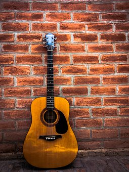 Music, Guitar, Vintage, Colorful, Modern, Melody