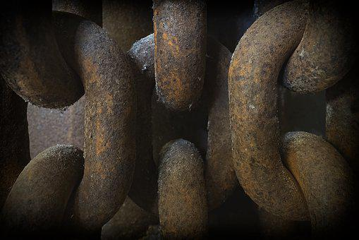 Chain, Chain Link, Iron, Metal, Connection, Rusty