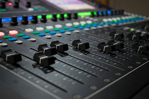 Mixer, Music, Audio, Studio, Sound Studio, Sound Mixer