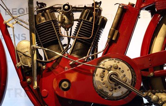 Germany, Einbeck, Motorcycle, Museum, V-engine, Vintage