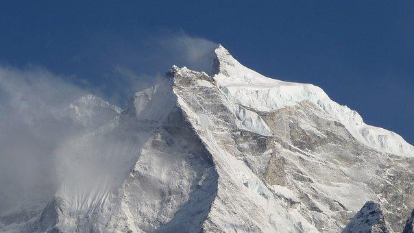 Tamserku, Khumbu, Sagamartha, Nepal, Everest, Himalaya
