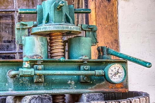 Wine Press, Press, Obsolete, Wine, Old, Broken