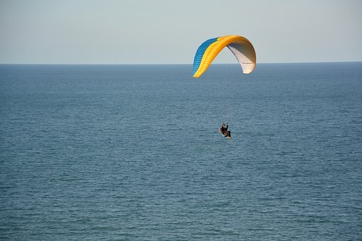 Paragliding, Paraglider, Wing Ozone Rush 5, Color