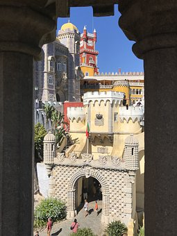 Sintra, Castle, Portugal, Fortress, Building