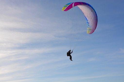 Paragliding, Paraglider, Preparation For Landing