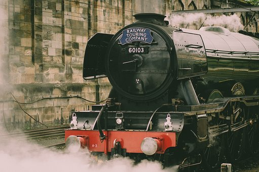 The Flying Scotsman, Train, Railway, Rails, Travel