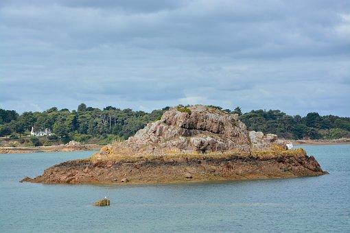 Rocks, Seascape, Sea, Loguivy Of The Sea, Side Of Armor