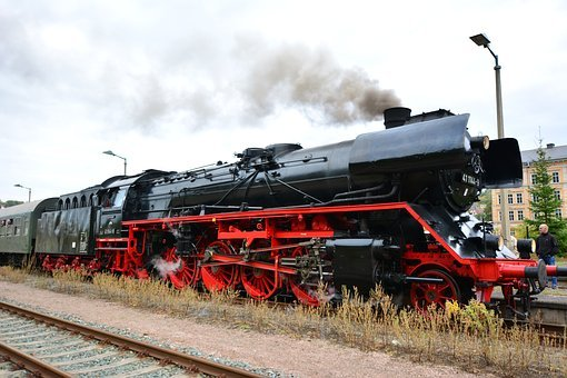 Elstertal Express, Steam Locomotive, Steam