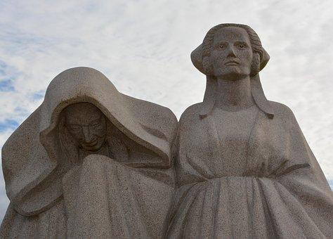 Monument, Monument Women, Stone Monument