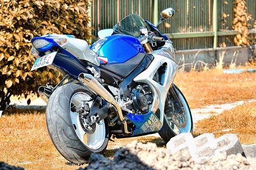 Suzuki, Photo, Motorcycle, Rider, Race