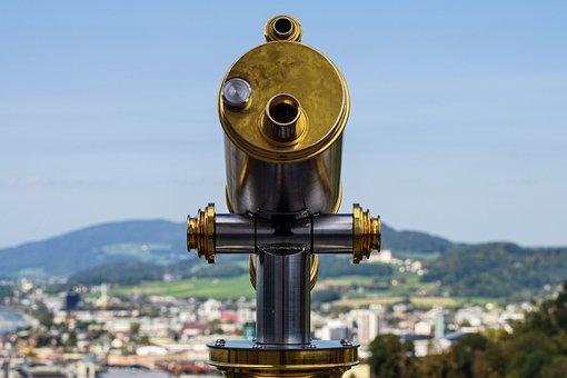 Telescope, Outlook, Distant View, View, Binoculars