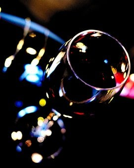 Wine Glass, Red Wine, Wine, Glass, Alcohol, Beverages